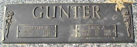 GUNTER, CLIFTON E. - Faulkner County, Arkansas | CLIFTON E. GUNTER - Arkansas Gravestone Photos