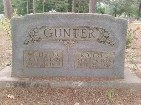 GUNTER, WILLIE O. - Faulkner County, Arkansas | WILLIE O. GUNTER - Arkansas Gravestone Photos