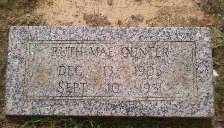 GUNTER, RUTH MAE - Faulkner County, Arkansas | RUTH MAE GUNTER - Arkansas Gravestone Photos