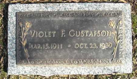 GUSTAFSON, VIOLET F. - Faulkner County, Arkansas | VIOLET F. GUSTAFSON - Arkansas Gravestone Photos