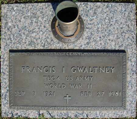 GWALTNEY (VETERAN WWII), FRANCIS I - Faulkner County, Arkansas | FRANCIS I GWALTNEY (VETERAN WWII) - Arkansas Gravestone Photos
