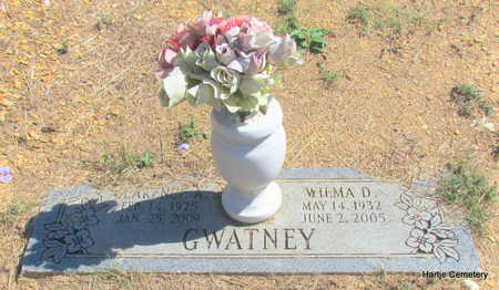 GWATNEY, CLARENCE A. - Faulkner County, Arkansas | CLARENCE A. GWATNEY - Arkansas Gravestone Photos