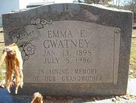 GWATNEY, EMMA E. - Faulkner County, Arkansas | EMMA E. GWATNEY - Arkansas Gravestone Photos