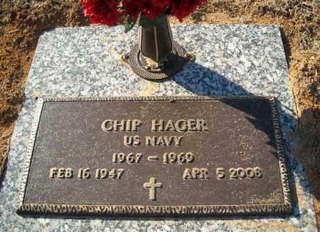 HAGER (VETERAN), CHIP - Faulkner County, Arkansas | CHIP HAGER (VETERAN) - Arkansas Gravestone Photos