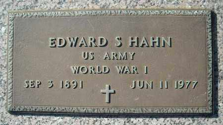 HAHN (VETERAN WWI), EDWARD S - Faulkner County, Arkansas | EDWARD S HAHN (VETERAN WWI) - Arkansas Gravestone Photos