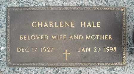 HALE, CHARLENE - Faulkner County, Arkansas | CHARLENE HALE - Arkansas Gravestone Photos