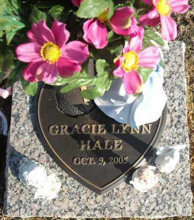 HALE, GRACIE LYNN - Faulkner County, Arkansas | GRACIE LYNN HALE - Arkansas Gravestone Photos