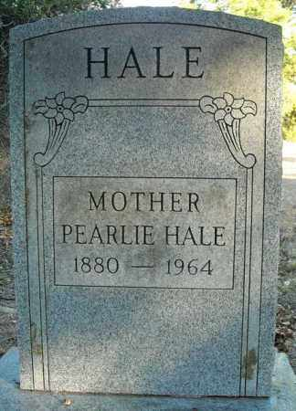 HALE, PEARLIE - Faulkner County, Arkansas | PEARLIE HALE - Arkansas Gravestone Photos