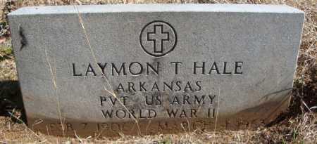 HALE (VETERAN WWII), LAYMON T - Faulkner County, Arkansas | LAYMON T HALE (VETERAN WWII) - Arkansas Gravestone Photos