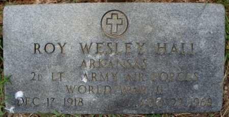 HALL (VETERAN WWII), ROY WESLEY - Faulkner County, Arkansas   ROY WESLEY HALL (VETERAN WWII) - Arkansas Gravestone Photos