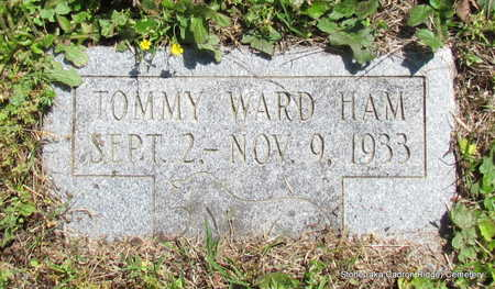 HAM, TOMMY WARD - Faulkner County, Arkansas | TOMMY WARD HAM - Arkansas Gravestone Photos