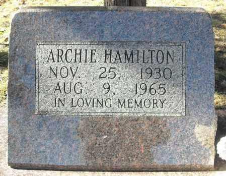 HAMILTON, ARCHIE - Faulkner County, Arkansas | ARCHIE HAMILTON - Arkansas Gravestone Photos