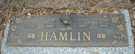 HAMLIN, LAURA Y. - Faulkner County, Arkansas | LAURA Y. HAMLIN - Arkansas Gravestone Photos