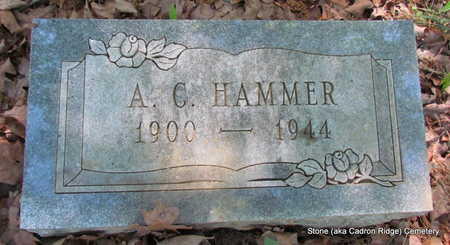 HAMMER, A.C. - Faulkner County, Arkansas | A.C. HAMMER - Arkansas Gravestone Photos