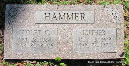HAMMER, LUTHER - Faulkner County, Arkansas | LUTHER HAMMER - Arkansas Gravestone Photos