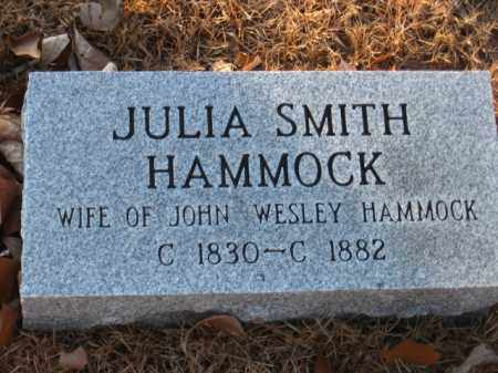 SMITH HAMMOCK, JULIA - Faulkner County, Arkansas | JULIA SMITH HAMMOCK - Arkansas Gravestone Photos