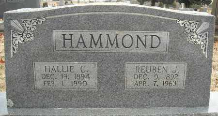 HAMMOND, REUBEN J. - Faulkner County, Arkansas | REUBEN J. HAMMOND - Arkansas Gravestone Photos