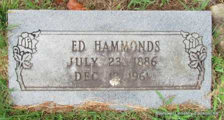 HAMMONDS, ED - Faulkner County, Arkansas | ED HAMMONDS - Arkansas Gravestone Photos