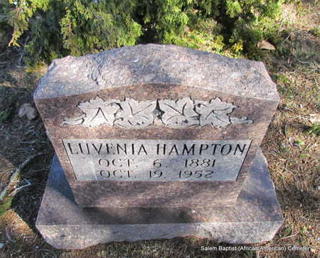 HAMPTON, LUVENIA - Faulkner County, Arkansas | LUVENIA HAMPTON - Arkansas Gravestone Photos