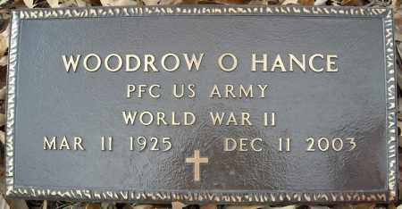 HANCE (VETERAN WWII), WOODROW O - Faulkner County, Arkansas | WOODROW O HANCE (VETERAN WWII) - Arkansas Gravestone Photos