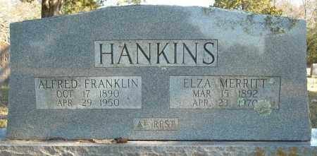 HANKINS, ALFRED FRANKLIN - Faulkner County, Arkansas | ALFRED FRANKLIN HANKINS - Arkansas Gravestone Photos