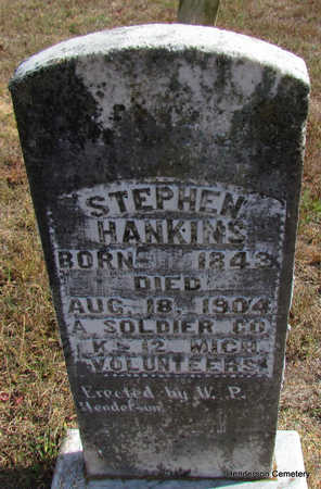 HANKINS (VETERAN UNION), STEPHEN - Faulkner County, Arkansas | STEPHEN HANKINS (VETERAN UNION) - Arkansas Gravestone Photos