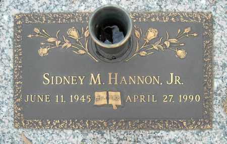 HANNON, JR., SIDNEY M. - Faulkner County, Arkansas | SIDNEY M. HANNON, JR. - Arkansas Gravestone Photos
