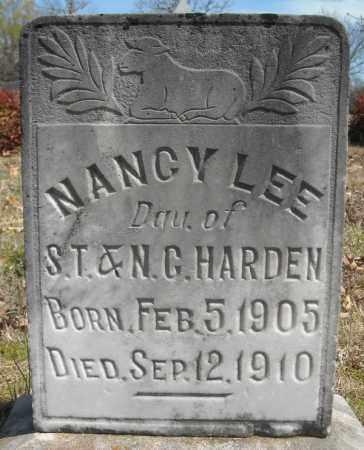 HARDEN, NANCY LEE - Faulkner County, Arkansas | NANCY LEE HARDEN - Arkansas Gravestone Photos