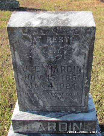 HARDIN, J.E. - Faulkner County, Arkansas   J.E. HARDIN - Arkansas Gravestone Photos