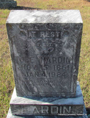 "HARDIN, JONATHON E. ""CROCKETT"" - Faulkner County, Arkansas 