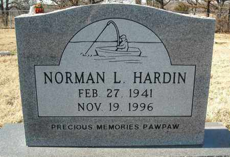HARDIN, NORMAN LEON - Faulkner County, Arkansas | NORMAN LEON HARDIN - Arkansas Gravestone Photos