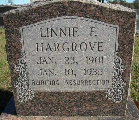 HARGROVE, LINNIE F. - Faulkner County, Arkansas | LINNIE F. HARGROVE - Arkansas Gravestone Photos