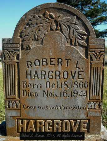HARGROVE, ROBERT L. - Faulkner County, Arkansas | ROBERT L. HARGROVE - Arkansas Gravestone Photos