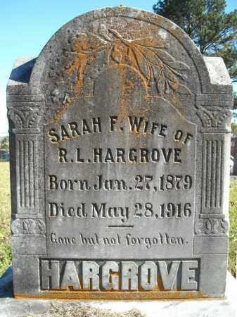HARGROVE, SARAH F. - Faulkner County, Arkansas | SARAH F. HARGROVE - Arkansas Gravestone Photos