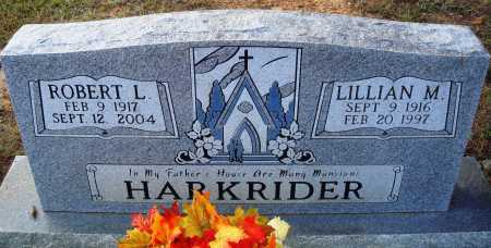 HARKRIDER, LILLIAN M. - Faulkner County, Arkansas | LILLIAN M. HARKRIDER - Arkansas Gravestone Photos