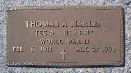 HARLEN (VETERAN WWII), THOMAS A - Faulkner County, Arkansas | THOMAS A HARLEN (VETERAN WWII) - Arkansas Gravestone Photos