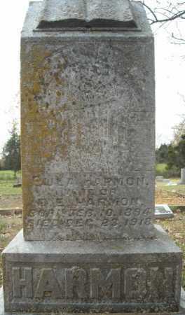 HARMON, EULA - Faulkner County, Arkansas | EULA HARMON - Arkansas Gravestone Photos
