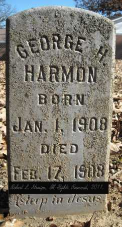 HARMON, GEORGE H. - Faulkner County, Arkansas | GEORGE H. HARMON - Arkansas Gravestone Photos
