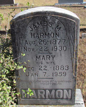 HARMON, JAMES MATTHEW - Faulkner County, Arkansas | JAMES MATTHEW HARMON - Arkansas Gravestone Photos