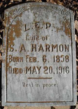 HARMON, L.E.P. - Faulkner County, Arkansas | L.E.P. HARMON - Arkansas Gravestone Photos