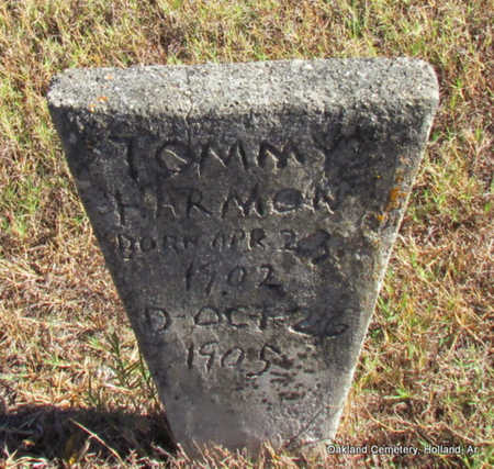 HARMON, TOMMY - Faulkner County, Arkansas | TOMMY HARMON - Arkansas Gravestone Photos