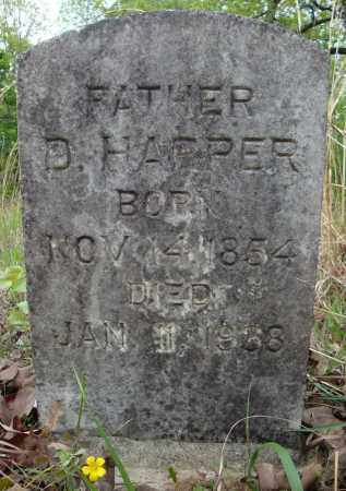 HARPER, D. - Faulkner County, Arkansas | D. HARPER - Arkansas Gravestone Photos