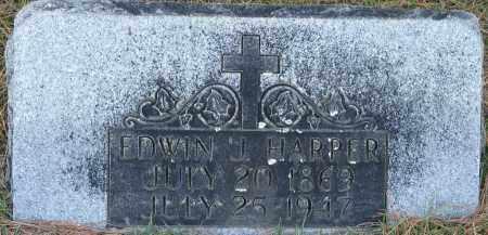 HARPER, EDWIN J. - Faulkner County, Arkansas | EDWIN J. HARPER - Arkansas Gravestone Photos