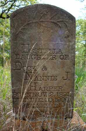 HARPER, ESSTELLA - Faulkner County, Arkansas | ESSTELLA HARPER - Arkansas Gravestone Photos