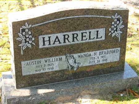 HARRELL, AUSTIN WILLIAM - Faulkner County, Arkansas | AUSTIN WILLIAM HARRELL - Arkansas Gravestone Photos