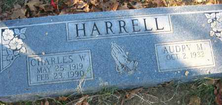 HARRELL, CHARLES W. - Faulkner County, Arkansas | CHARLES W. HARRELL - Arkansas Gravestone Photos