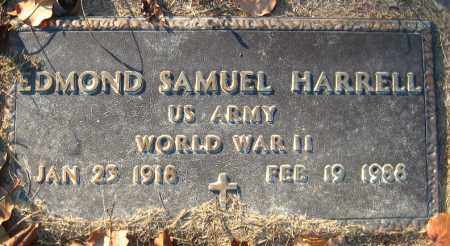 HARRELL  (VETERAN WWII), EDMOND SAMUEL - Faulkner County, Arkansas | EDMOND SAMUEL HARRELL  (VETERAN WWII) - Arkansas Gravestone Photos