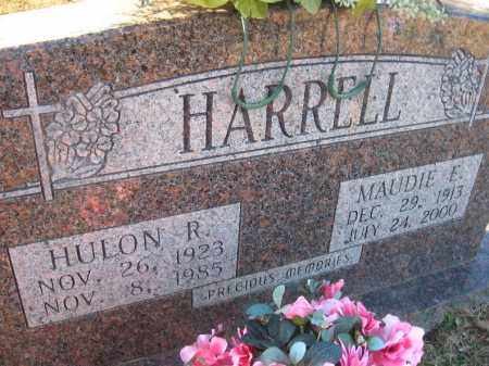 HARRELL, HULON R. - Faulkner County, Arkansas | HULON R. HARRELL - Arkansas Gravestone Photos