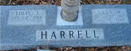HARRELL, LOUIS JESSIE - Faulkner County, Arkansas | LOUIS JESSIE HARRELL - Arkansas Gravestone Photos