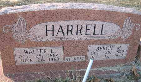 HARRELL, WALTER L. - Faulkner County, Arkansas | WALTER L. HARRELL - Arkansas Gravestone Photos